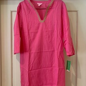 Lilly Pulitzer Coverup/Tunic. New. Large.